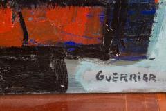 Raymond Guerrier P 02 Dorade Bleue Painting by Raymond Guerrier - 291140
