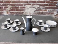 Raymond Loewy After Dinner Coffee Set for Rosenthal 2000 by Raymond Loewy - 693242