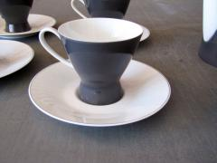 Raymond Loewy After Dinner Coffee Set for Rosenthal 2000 by Raymond Loewy - 693250