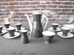 Raymond Loewy After Dinner Coffee Set for Rosenthal 2000 by Raymond Loewy - 693254
