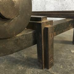 Raymond Subes Raymond Subes Superb Powerful Wrought Iron Andiron - 417792