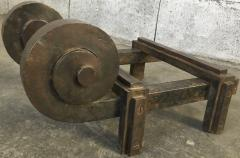Raymond Subes Raymond Subes Superb Powerful Wrought Iron Andiron - 417799