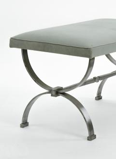 Raymond Subes Raymond Subes brushed iron base bench - 828816