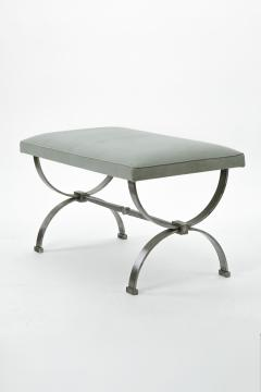 Raymond Subes Raymond Subes brushed iron base bench - 828818
