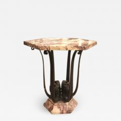 Raymond Subes Raymond Subes exceptional wrought iron coffee table or center table - 1207102