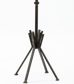Raymond Subes Raymond Subes superb wrought iron floor lamp - 869713