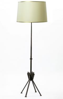 Raymond Subes Raymond Subes superb wrought iron floor lamp - 869715