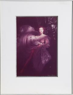 Rebecca Blake Model in Organza Gown - 882309