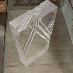 Rectangular Lucite Sculpture - 395086
