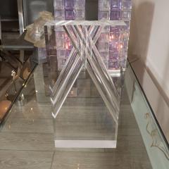 Rectangular Lucite Sculpture - 395087