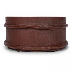 Red Painted Swedish Decorative Bowl - 1779915