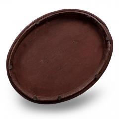 Red Painted Swedish Decorative Bowl - 1779917