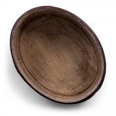 Red Painted Swedish Decorative Bowl - 1779919