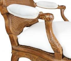 Regence Carved Oak Fauteuil - 1558223