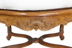 Regence Carved Oak Fauteuil - 1558225