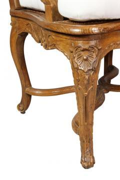 Regence Carved Oak Fauteuil - 1558249