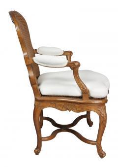 Regence Carved Oak Fauteuil - 1558261