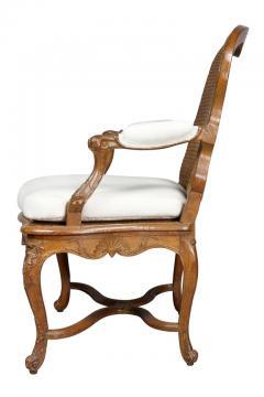 Regence Carved Oak Fauteuil - 1558270