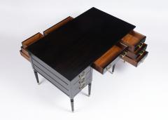 Regency 1900s English Partner Desk - 1370869