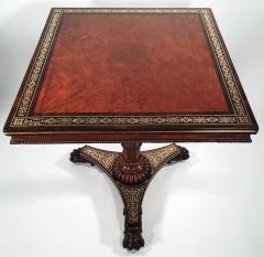 Regency Amboyna and Rosewood Occasional Table - 329892