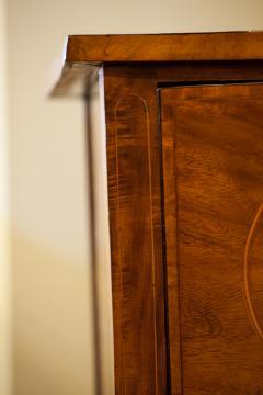 Regency Bow Front Mahogany Sideboard - 937097