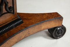 Regency Burr Oak and Ebony Centre Table - 622064