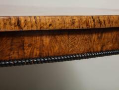 Regency Burr Oak and Ebony Centre Table - 622071