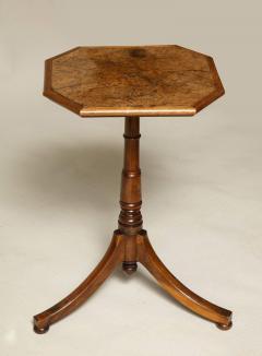 Regency Burr Oak and Yew Wood Table - 660290
