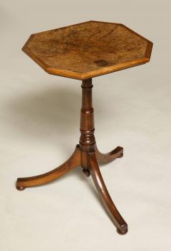 Regency Burr Oak and Yew Wood Table - 660293