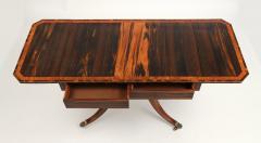 Regency Calamander and Rosewood Sofa Table c 1810 20 - 1319331