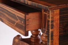 Regency Calamander and Rosewood Sofa Table c 1810 20 - 1319332