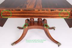 Regency Calamander and Rosewood Sofa Table c 1810 20 - 1319334