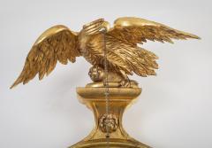 Regency Classical Gilt Convex Girandole Mirror - 976160
