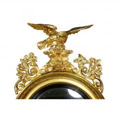 Regency Giltwood Convex Girandole Mirror - 1568042