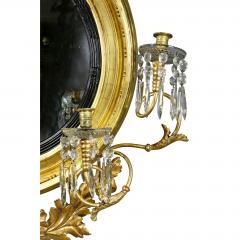Regency Giltwood Convex Girandole Mirror - 1568043