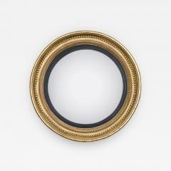 Regency Giltwood Convex Mirror Circa 1810 - 843811
