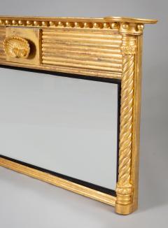 Regency Giltwood Ovemantle Mirror - 1241567