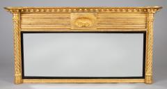 Regency Giltwood Ovemantle Mirror - 1241571