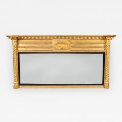 Regency Giltwood Ovemantle Mirror - 1243928