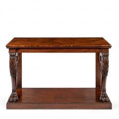 Regency Mahogany Console Table - 756422
