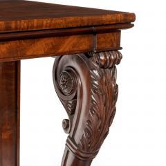 Regency Mahogany Console Table - 756426
