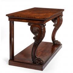 Regency Mahogany Console Table - 756428