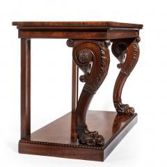 Regency Mahogany Console Table - 756429