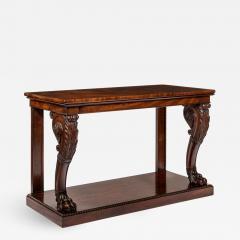Regency Mahogany Console Table - 758184
