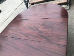 Regency Mahogany Drop Leaf Dining Table - 1426586
