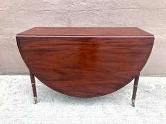 Regency Mahogany Drop Leaf Dining Table - 1426588