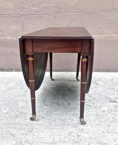 Regency Mahogany Drop Leaf Dining Table - 1426591