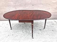 Regency Mahogany Drop Leaf Dining Table - 1426598