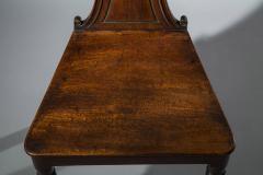 Regency Mahogany Hall Chair - 999740