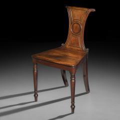 Regency Mahogany Hall Chair - 999742